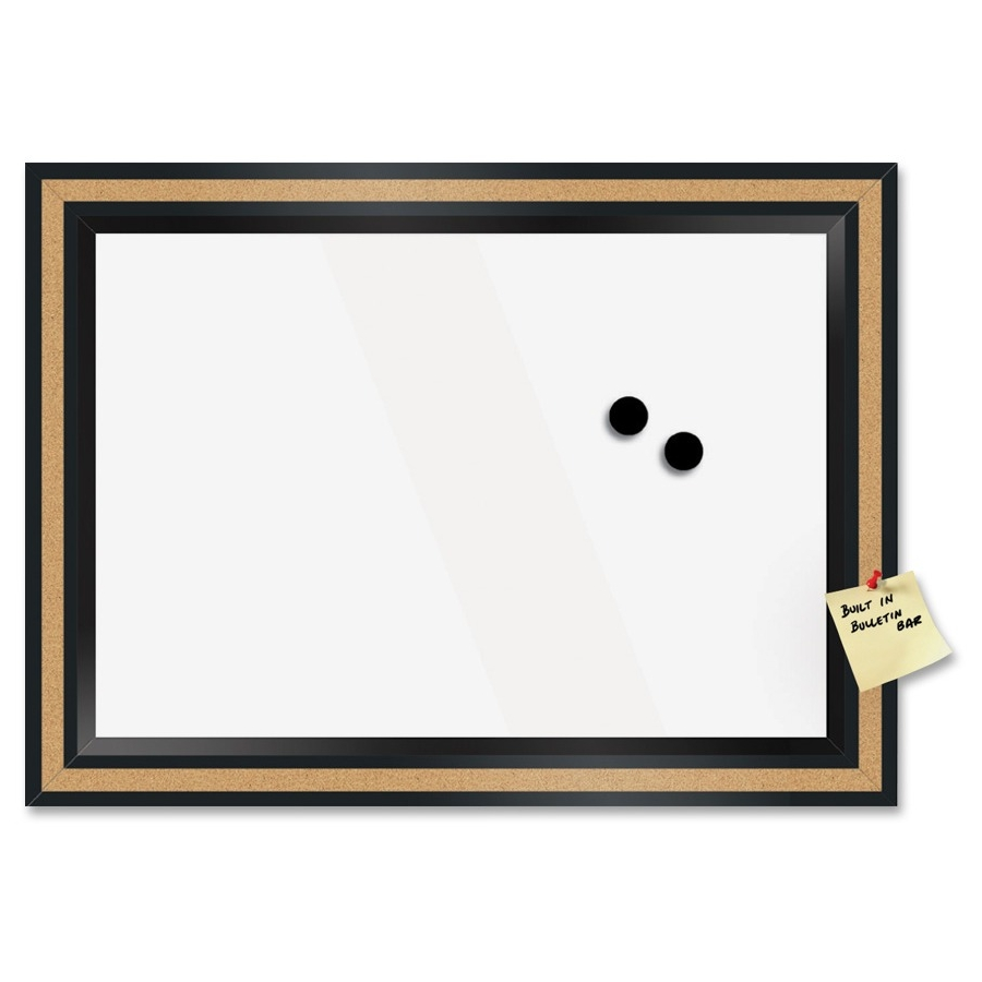 The Board Dudes Magnetic Dry Erase Combo Board 22 Quot 1 8