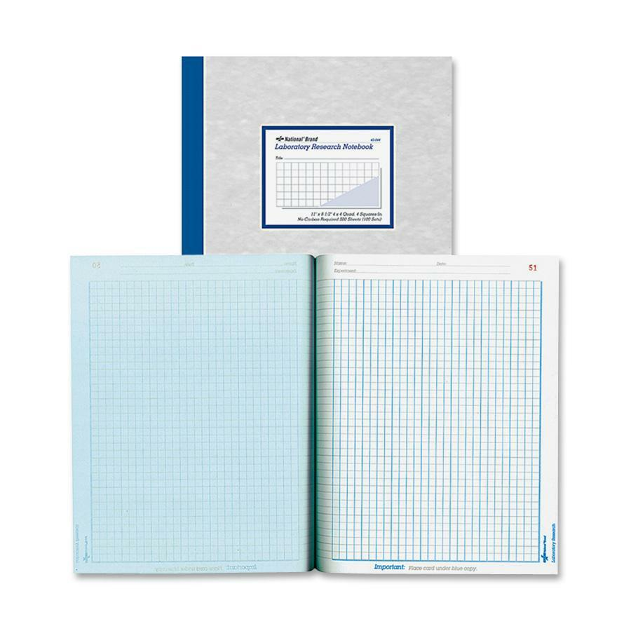 Rediform Laboratory Research Notebooks Letter 200