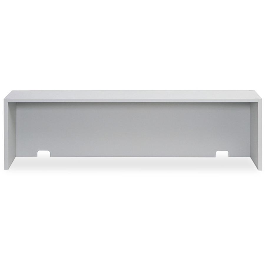 "Safco E-Z Sort Riser - 57.5"" Width x 13"" Depth x 14"" Height - Steel - Gray. Picture 2"
