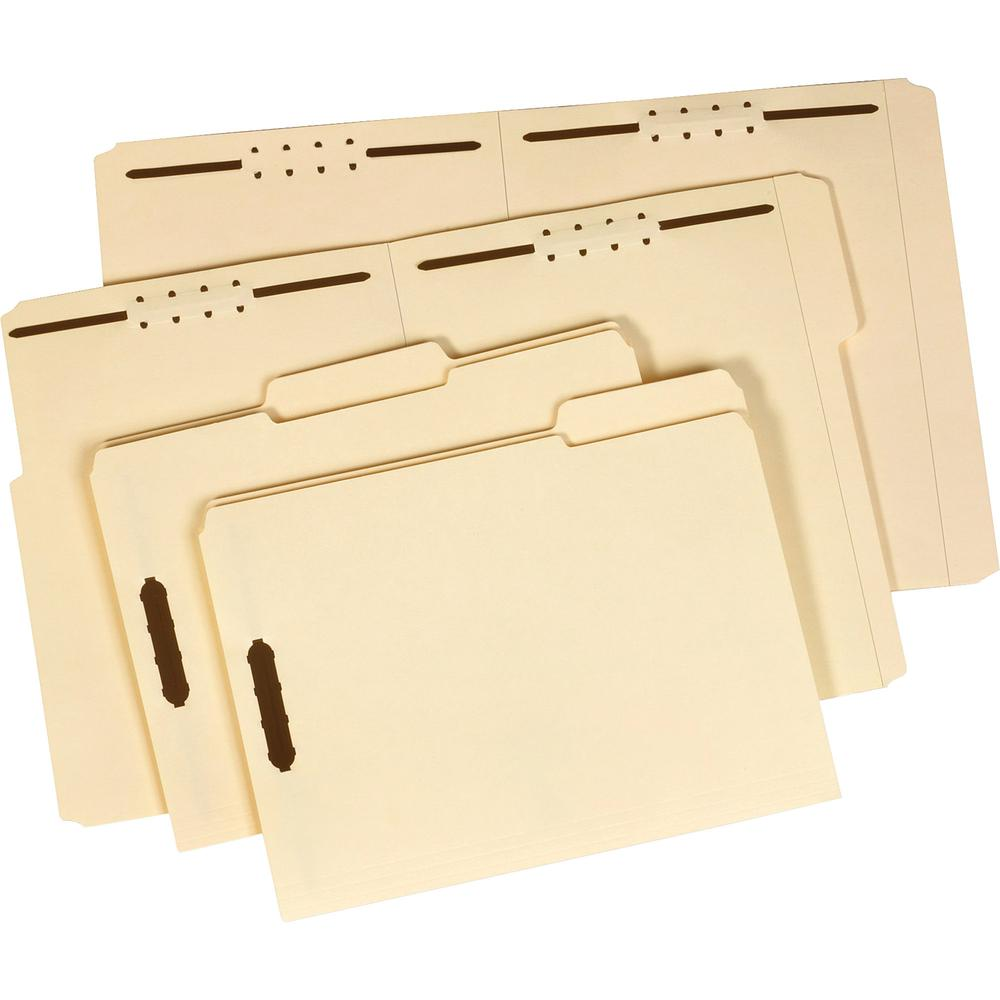 """Pendaflex 1/3 Tab Cut Letter Recycled Top Tab File Folder - 8 1/2"""" x 11"""" - 3/4"""" Expansion - 1 Fastener(s) - 2"""" Fastener Capacity for Folder - Top Tab Location - Assorted Position Tab Position - Manila. Picture 4"""