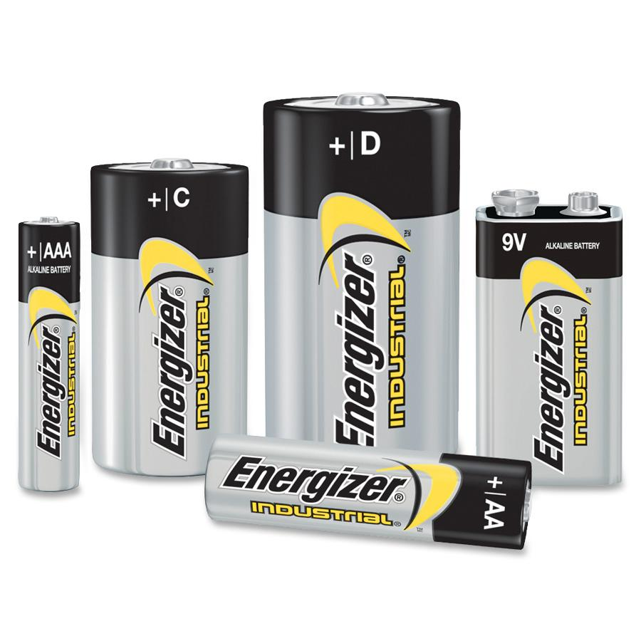 Energizer Industrial Alkaline Aaa Batteries Aaa