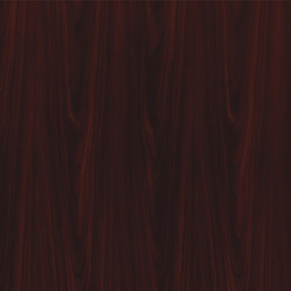 "HON 10700 Series 4-Door Stack-On Hutch - 56.6"" x 14.6"" x 37.1"" - Drawer(s)4 Door(s) - Waterfall Edge - Material: Wood Door - Finish: Laminate, Mahogany. Picture 3"