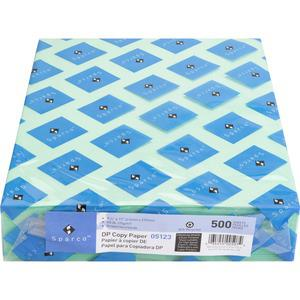 """Sparco Laser Copy & Multipurpose Paper - 30% Recycled - Letter - 8 1/2"""" x 11"""" - 20 lb Basis Weight - 500 / Ream - Green. Picture 7"""