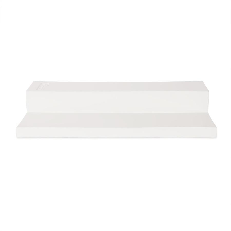 Champion Sports Youth Step Down Pitching Rubber - White - Rubber. Picture 3