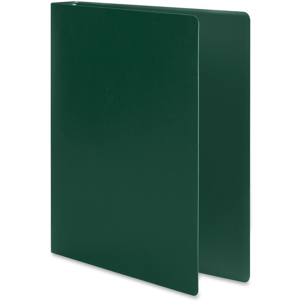 "Wilson Jones ACCOHIDE Binder - 1"" Binder Capacity - Letter - 8 1/2"" x 11"" Sheet Size - 175 Sheet Capacity - Round Ring Fastener(s) - 35 pt. Binder Thickness - Polypropylene - Dark Green - Eco-friendly. Picture 4"
