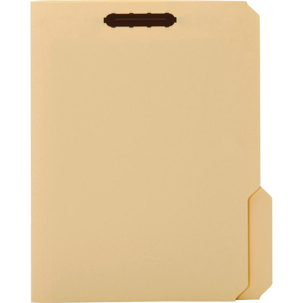 """Pendaflex 1/3 Tab Cut Letter Recycled Top Tab File Folder - 8 1/2"""" x 11"""" - 3/4"""" Expansion - 1 Fastener(s) - 2"""" Fastener Capacity for Folder - Top Tab Location - Assorted Position Tab Position - Manila. Picture 2"""