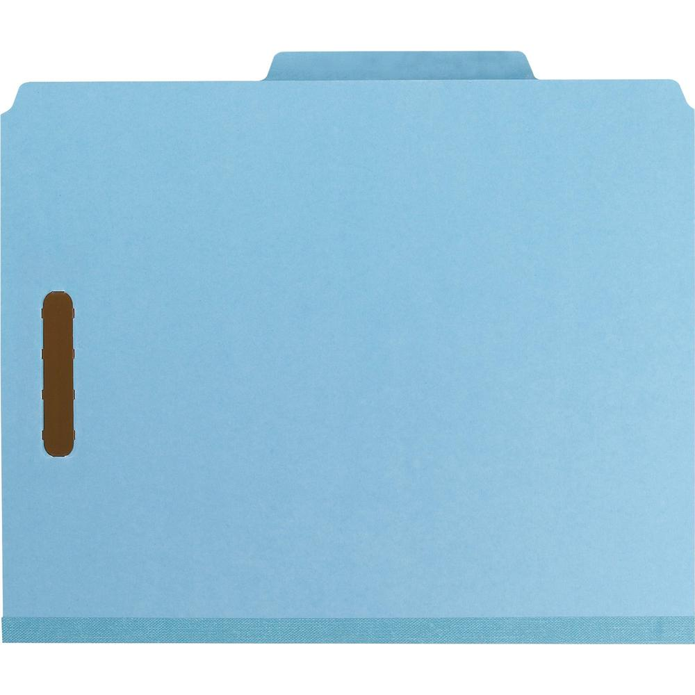 """Smead 100% Recycled Classification Folders - Letter - 8 1/2"""" x 11"""" Sheet Size - 2"""" Expansion - 2 x 2K Fastener(s) - 1"""" Fastener Capacity, 2"""" Fastener Capacity - 2/5 Tab Cut - Top Tab Location - Right . Picture 5"""