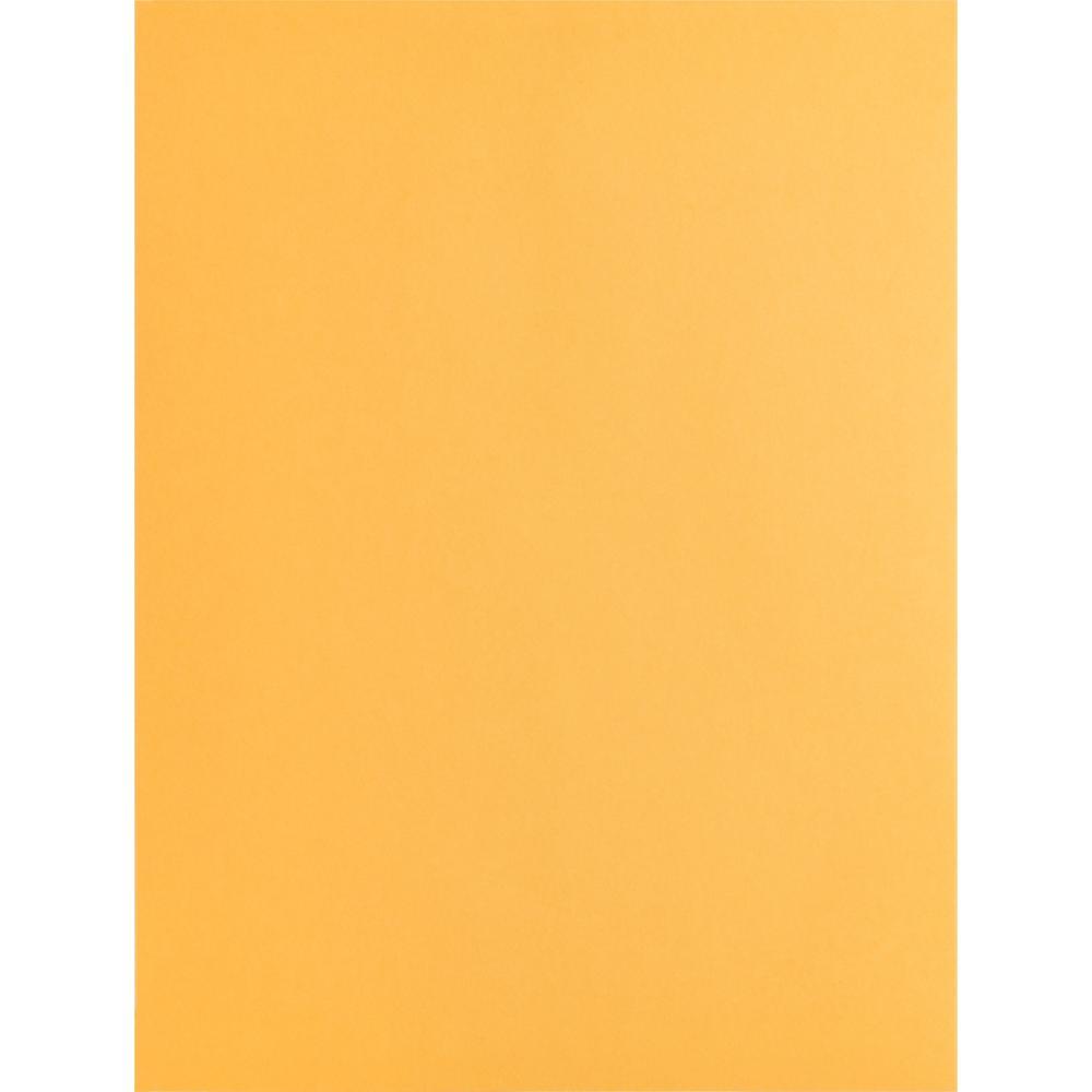 "Business Source Kraft Gummed Catalog Envelopes - Catalog - #10 1/2 - 9"" Width x 12"" Length - 28 lb - Gummed - Kraft - 250 / Box - Kraft. Picture 3"