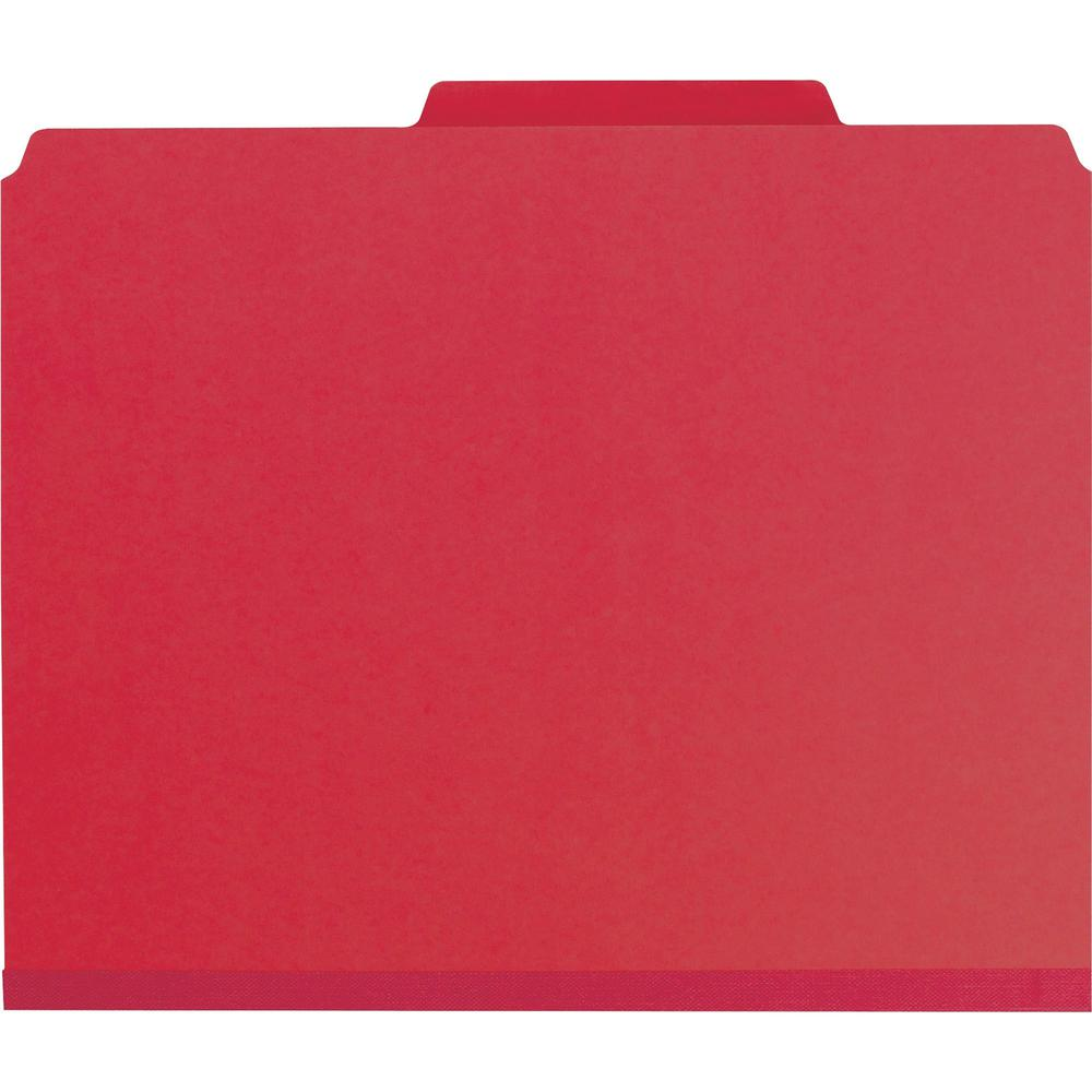 """Smead Press Guard Classification Folders with SafeSHIELD Coated Fastener Technology - Letter - 8 1/2"""" x 11"""" Sheet Size - 2"""" Expansion - 2 x 2S Fastener(s) - 2"""" Fastener Capacity for Folder, 1"""" Fastene. Picture 3"""