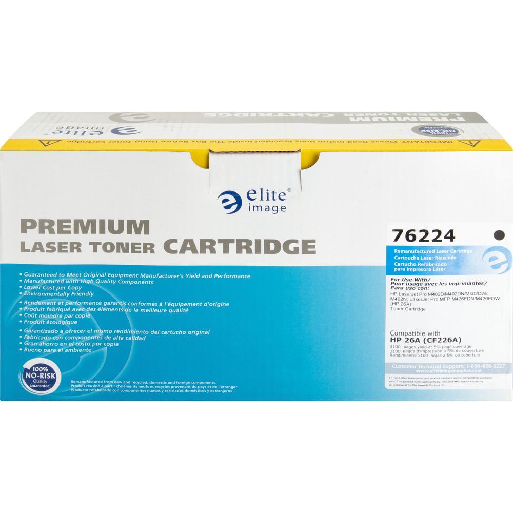 Elite Image Toner Cartridge - Alternative for HP 23A (CF226A) - Black - Laser - 3100 Pages - 1 Each. Picture 11