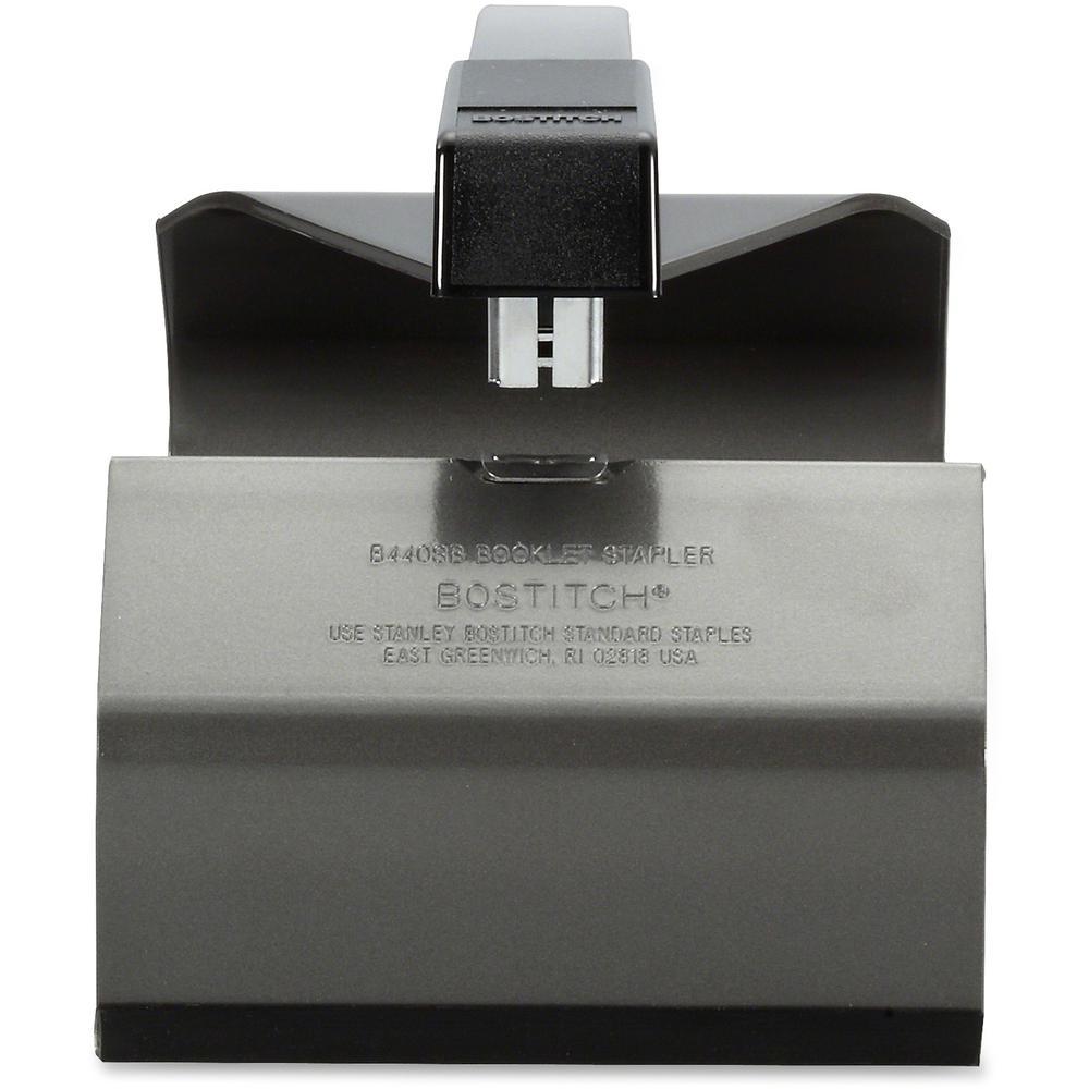 "Bostitch Booklet Stapler - 20 Sheets Capacity - 210 Staple Capacity - Full Strip - 1/4"" Staple Size - Black. Picture 3"