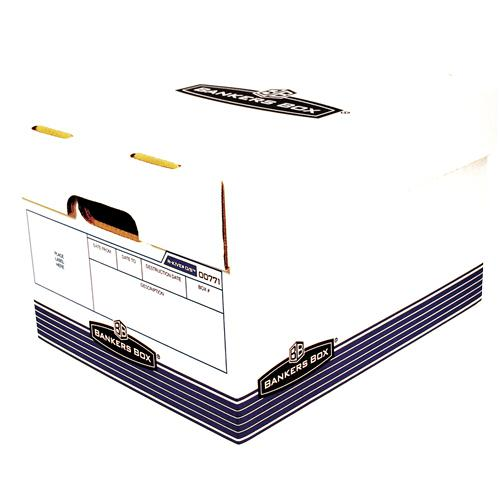"""Bankers Box R-Kive Offsite File Storage Box - Internal Dimensions: 12"""" Width x 15"""" Depth x 10"""" Height - External Dimensions: 12.9"""" Width x 16.6"""" Depth x 10.3"""" Height - Lift-off Closure - Stackable - W. Picture 3"""