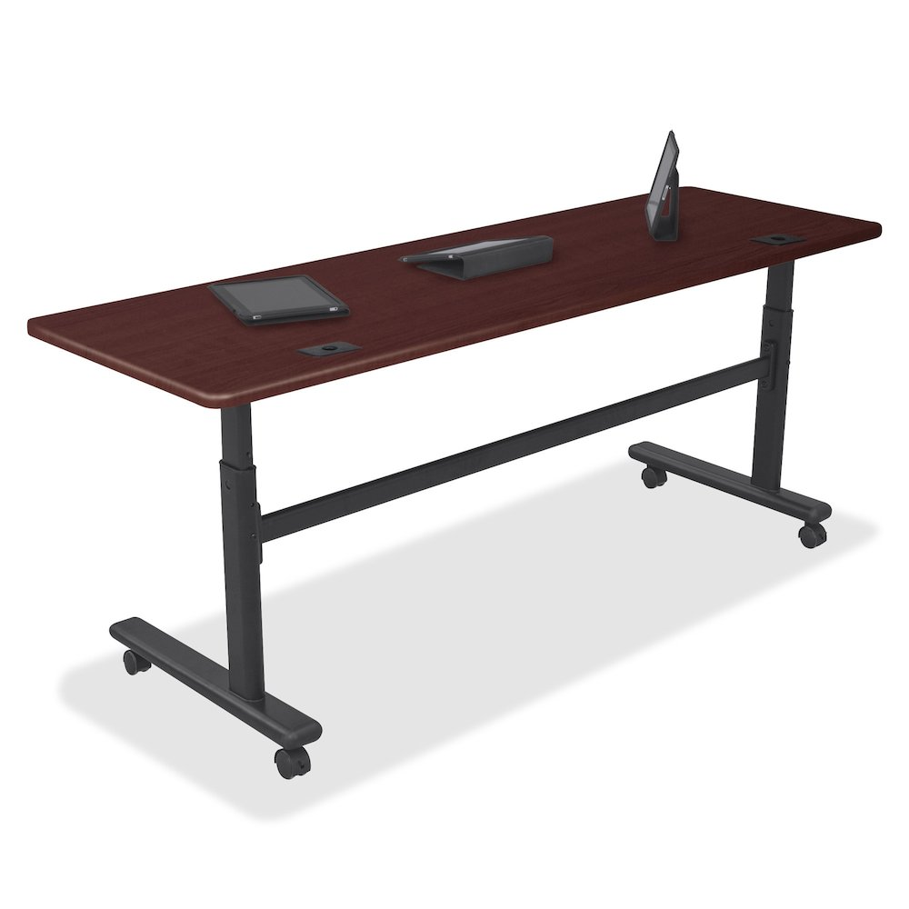 Balt HeightAdjustable Flipper Training Tabletop Rectangle Top - Lorell flipper training table