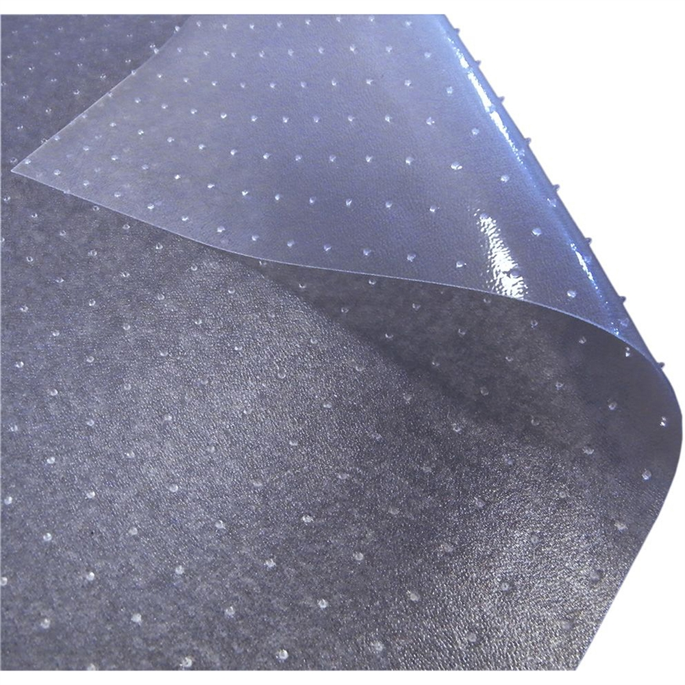 """Computex Anti-Static Advantagemat, PVC Chair Mat, for standard pile carpets (3/8"""" or less), Rectangular with Lip, Size 36"""" x 48"""". Picture 3"""