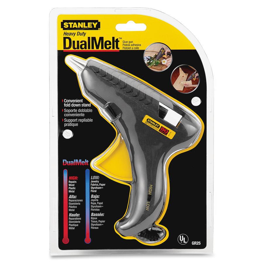 Stanley Dual Melt Glue Gun - Standard Duty - Gray, Yellow. Picture 3
