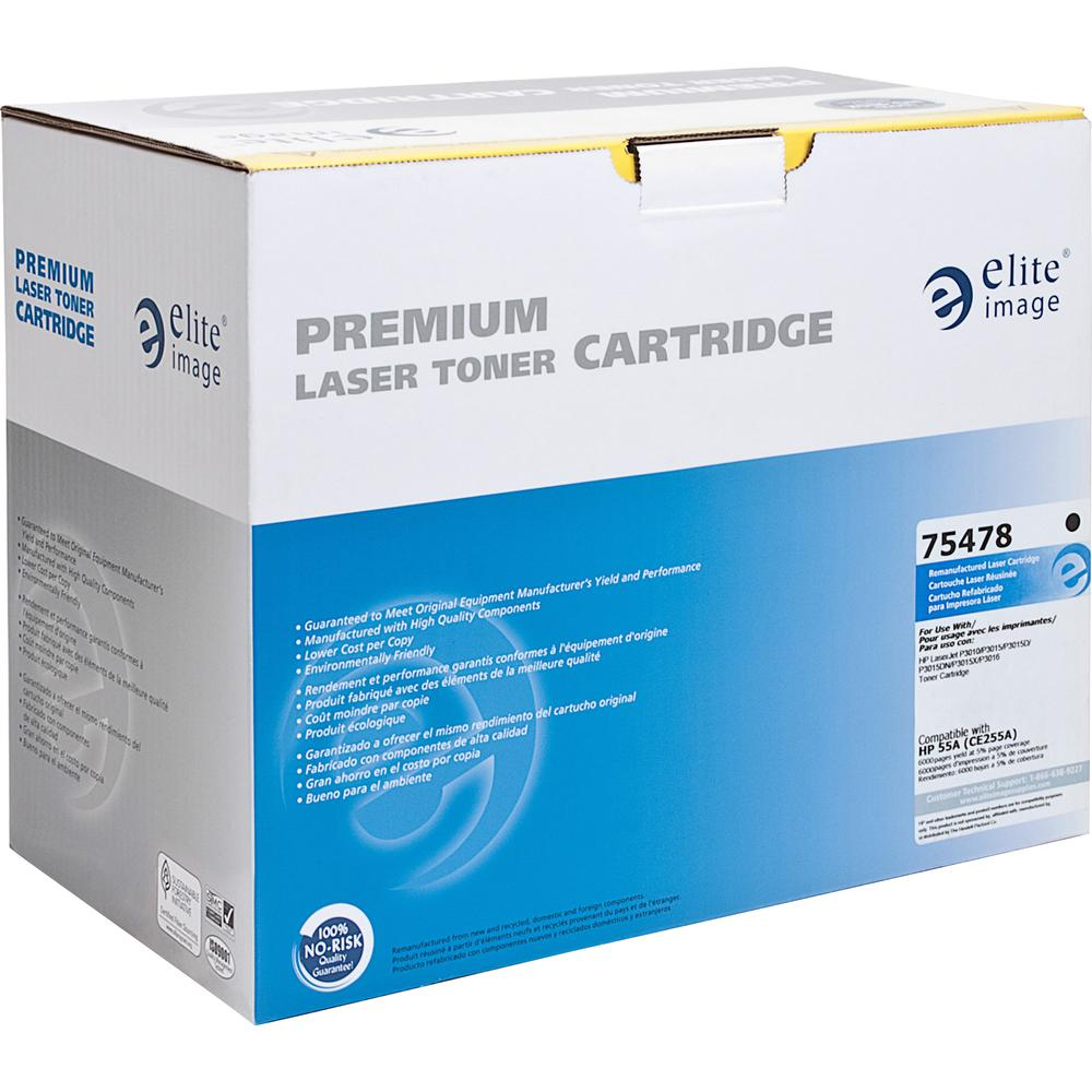Elite Image Remanufactured Toner Cartridge Alternative For Hp 55a Laserjet 24k Black Cc364x Similar Products Pci Reman Alt 64x