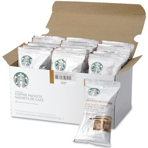 Starbucks Pike Place Roast Coffee Cocoa Nut Medium
