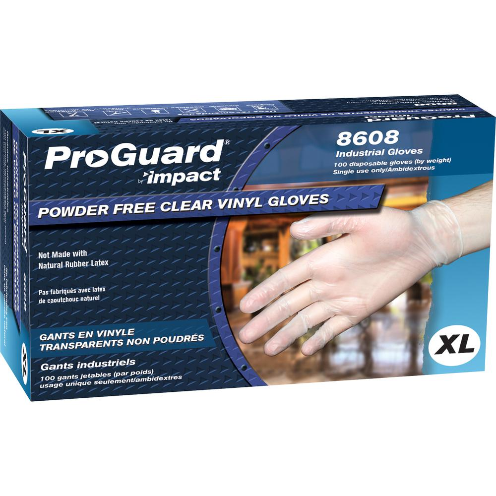 Proguard Vinyl Pf General Purpose Gloves X Large Size
