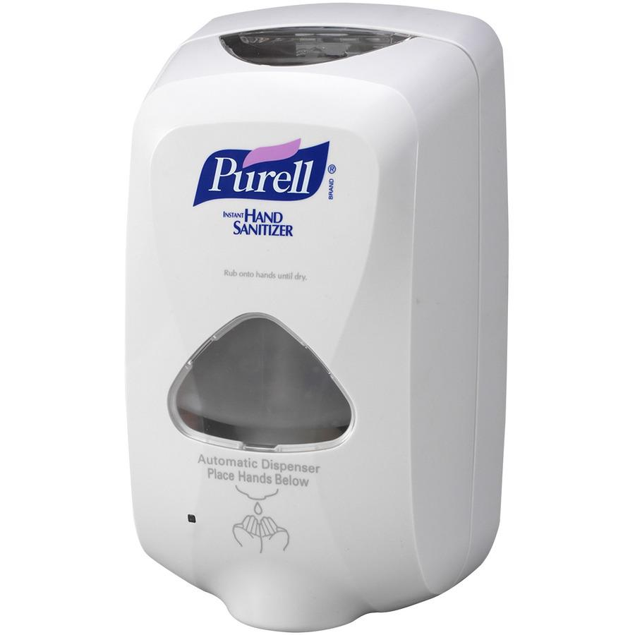 PURELL® TFX Touch-free Sanitizer Dispenser - Automatic - 1.27 quart Capacity - Support 3 x C Battery - Gray - 1Each. Picture 2