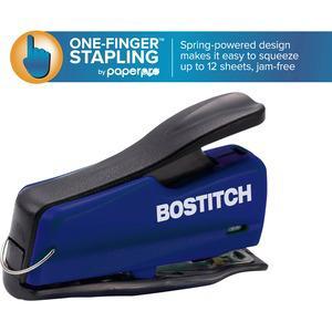 """Bostitch Nano 12 Mini Stapler - 12 Sheets Capacity - 50 Staple Capacity - Mini - 1/4"""" Staple Size - Translucent. Picture 2"""