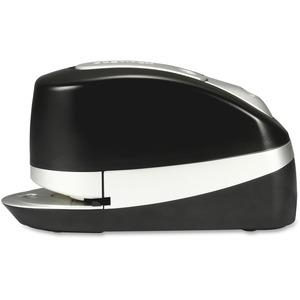 Bostitch Impulse 20 Executive Electric Stapler - 20 Sheets Capacity - 210 Staple Capacity - Full Strip - Black, Silver. Picture 2