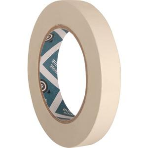 """Business Source Utility-purpose Masking Tape - 60 yd Length x 0.75"""" Width - 3"""" Core - Crepe Paper Backing - 1 Roll - Tan. Picture 3"""