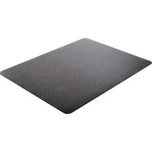 "Deflecto Black EconoMat for Hard Floors - Hard Floor, Office, Carpeted Floor, Breakroom - 60"" Length x 46"" Width - Rectangle - Vinyl - Black. Picture 11"
