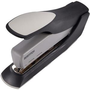 """Bostitch Spring-Powered 60 Heavy-Duty Stapler - 60 Sheets Capacity - 5/16"""" , 3/8"""" Staple Size - Black, Gray. Picture 4"""