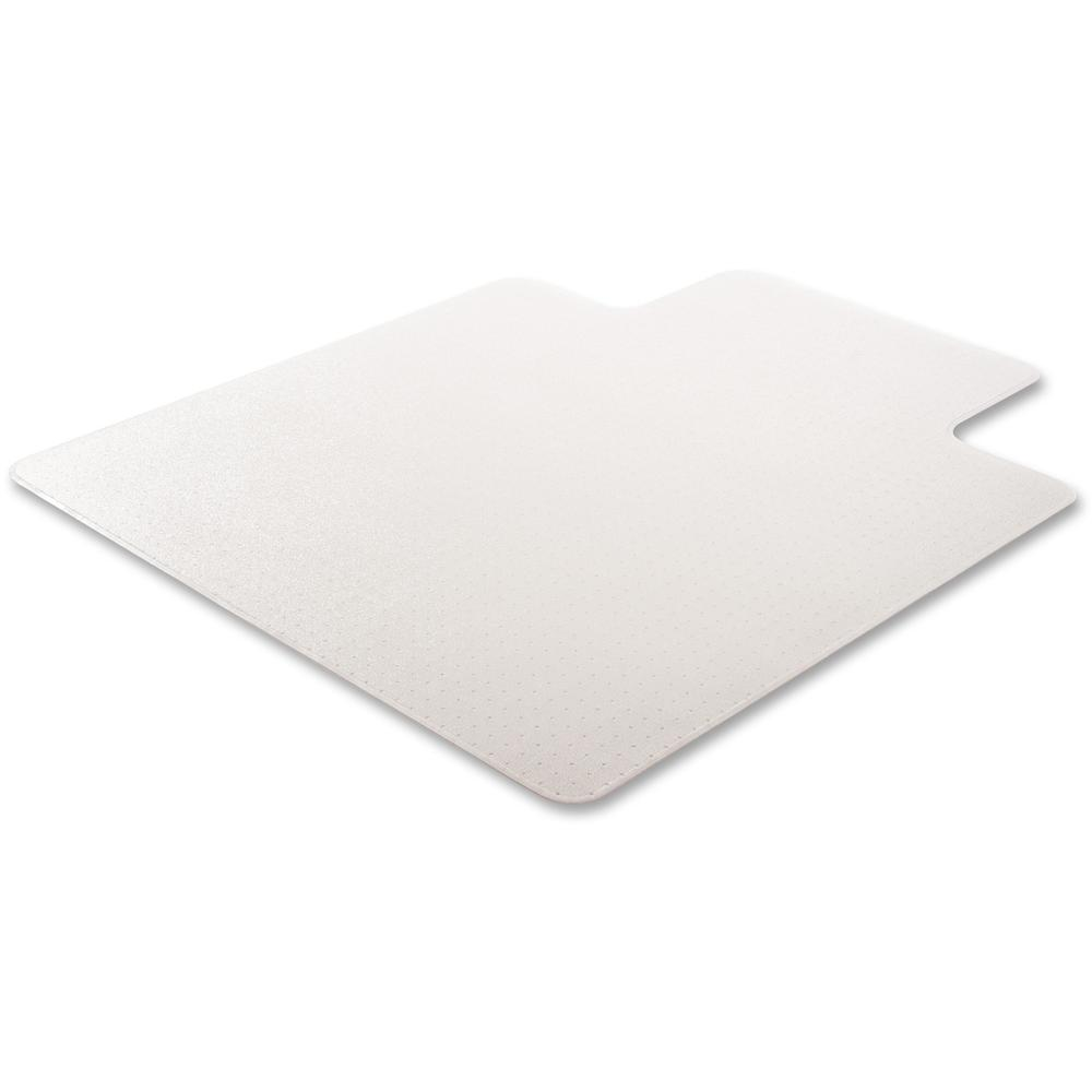 """Deflecto RollaMat for Carpet - Home, Office, Carpet - 60"""" Length x 46"""" Width - Lip Size 12"""" Length x 25"""" Width - Rectangle - Textured - Vinyl - Clear. Picture 9"""