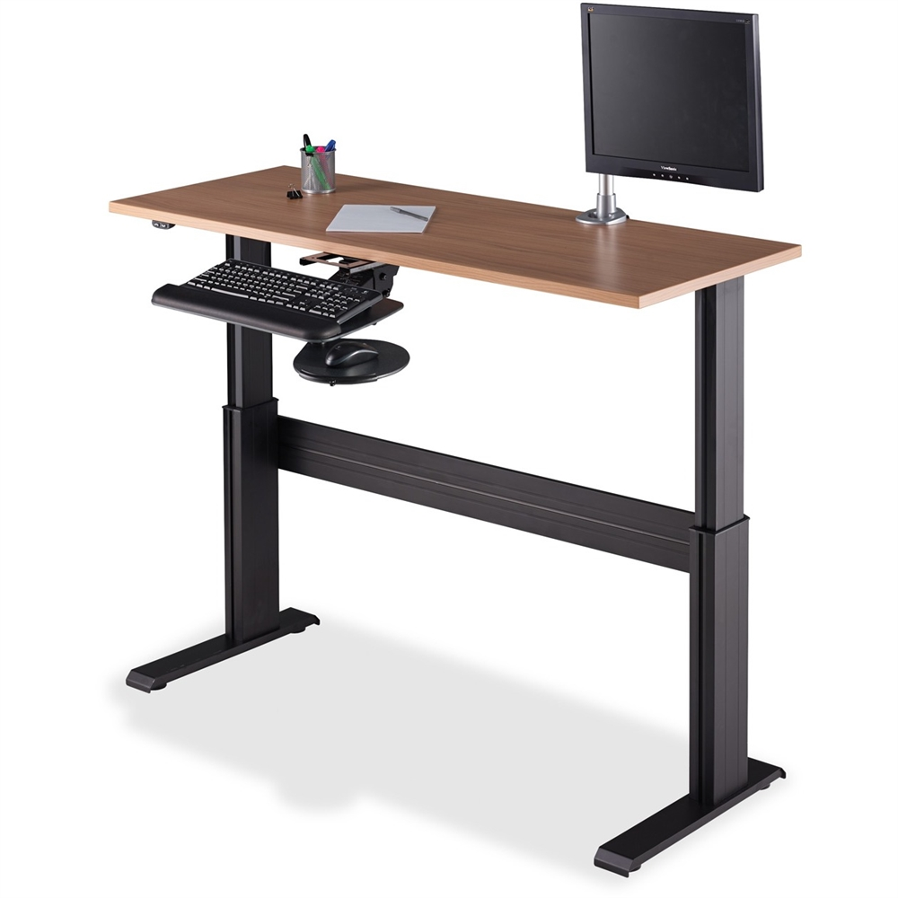 Height adjustable workstation tabletop latte 24 table for Javascript table th width