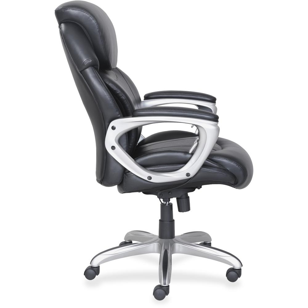 Lorell Wellness By Design Air Tech Executive Chair Black Bonded