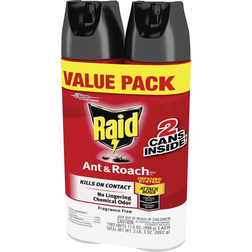 Raid Ant Roach Killer Spray Spray Kills Ants Cockroaches Waterbug Palmetto Bug