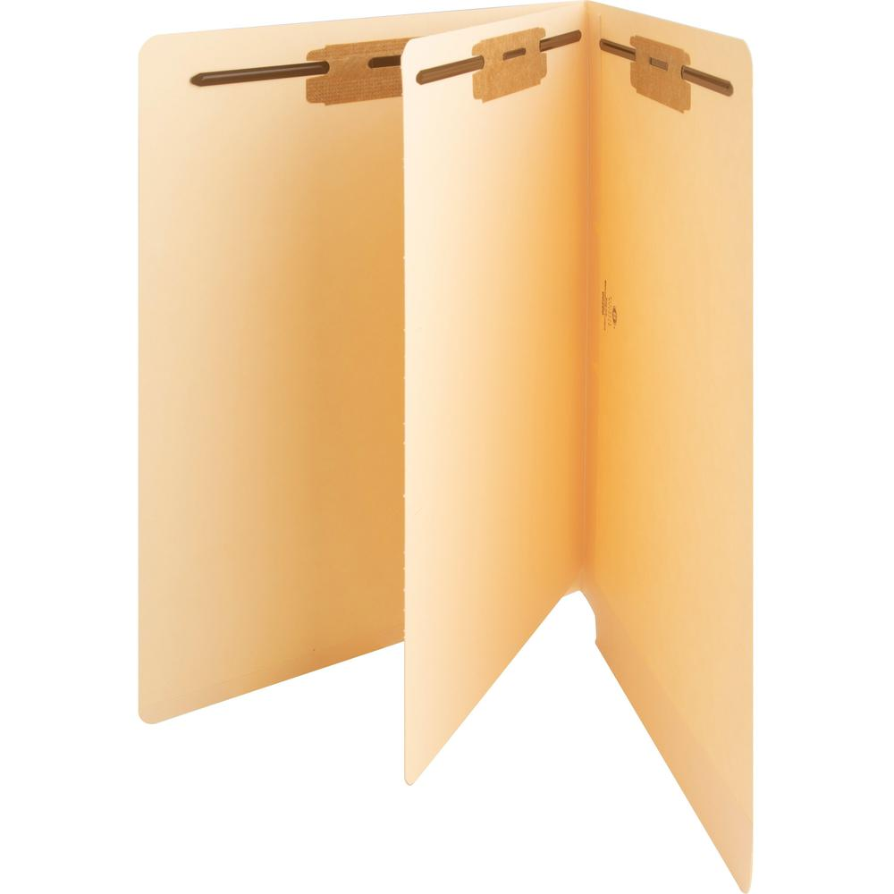 """Business Source 3/4"""" Expanding Medical File Folders - Letter - 8 1/2"""" x 11"""" Sheet Size - 3/4"""" Expansion - 2"""" Fastener Capacity - End Tab Location - 11 pt. Folder Thickness - Manila - Recycled - 40 / B. Picture 8"""