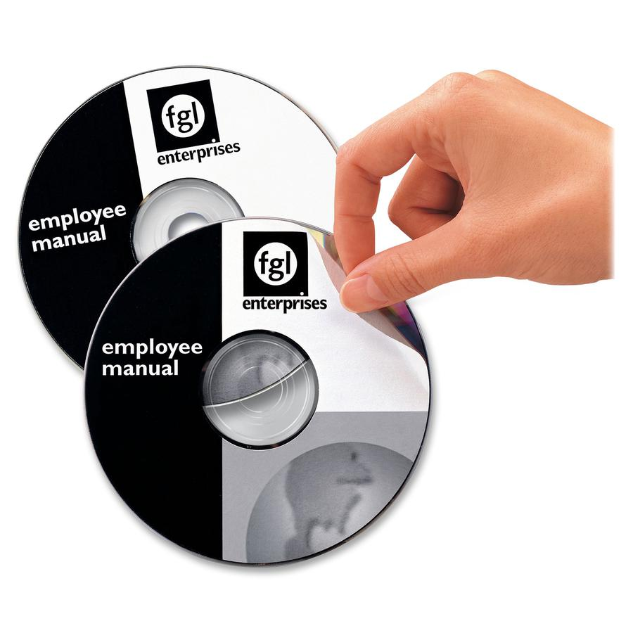 Avery® 5931 Laser Labels Shuttered Jewel Case Inserts with Software for CD/DVD - Laser - 50 / Pack. Picture 4