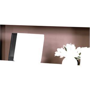 "HON Valido 3-Shelf Bookcase, 36""W - 36"" x 13.1"" x 43.6"" x 1.5"" - 3 Shelve(s) - Ribbon Edge - Material: Particleboard - Finish: Mahogany. Picture 2"