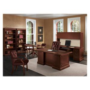 """HON Preside Veneer Queen Anne Base Kit - Queen Anne Base - 29.50"""" Height - Assembly Required - Mahogany. Picture 3"""