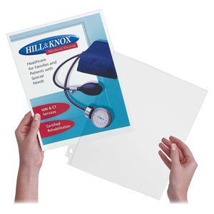 """Avery® Side Insert Sheet Protectors - For Letter 8 1/2"""" x 11"""" Sheet - Clear - Polypropylene - 25 / Pack. Picture 3"""