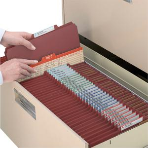 """Smead 100% Recycled Classification Folders - Letter - 8 1/2"""" x 11"""" Sheet Size - 2"""" Expansion - 2 x 2K Fastener(s) - 1"""" Fastener Capacity, 2"""" Fastener Capacity - 2/5 Tab Cut - Top Tab Location - Right . Picture 2"""