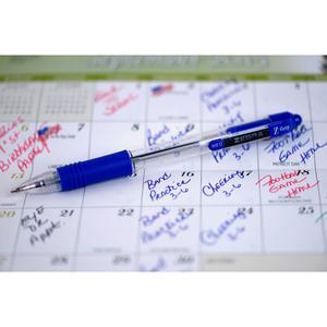 Zebra Pen Z-Grip Retractable Ballpoint Pens - Medium Pen Point - 1 mm Pen Point Size - Retractable - Assorted - Assorted Barrel - 7 / Pack. Picture 5