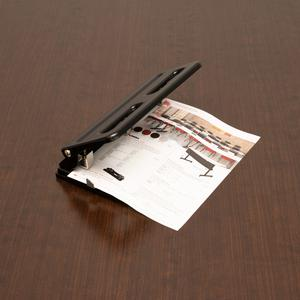 """Business Source Heavy-duty 3-hole Punch - 3 Punch Head(s) - 30 Sheet Capacity - 9/32"""" Punch Size - Black. Picture 10"""