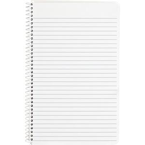 """Business Source College Ruled Composition Books - 80 Sheets - Wire Bound - 16 lb Basis Weight - 6"""" x 9 1/2"""" - White Paper - Stiff-back - 1Each. Picture 2"""