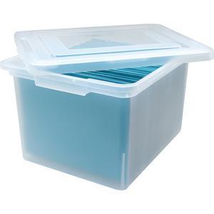 Lorell Letter Legal Plastic File Box External Dimensions