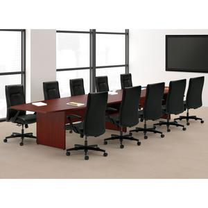 HON Preside Laminate Conference Table Top Boat Top Ft Table - Hon preside table