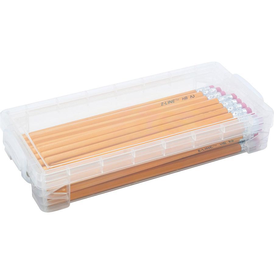 Advantus Super Stacker Pencil Box External Dimensions 8