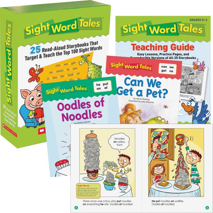 Scholastic Res. Grade K-2 Sight Word Tales Box Set Printed Book - Book - Grade K-2 - English. Picture 2