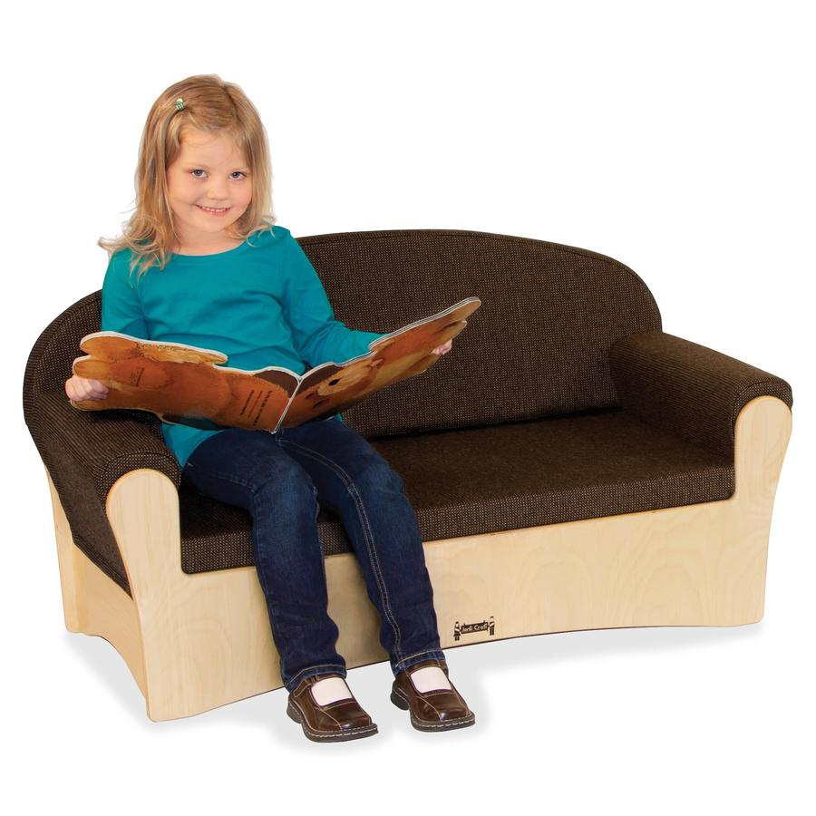 Jonti-Craft Komfy Sofa 4-piece Set - Rounded Edge. Picture 2