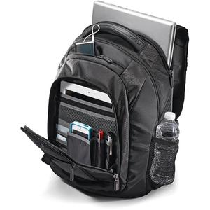 "Samsonite Tectonic 2 Carrying Case (Backpack) for 15.6"" Notebook - Black - Shock Resistant Interior, Slip Resistant Shoulder Strap - Poly Ballistic, Tricot Interior - Shoulder Strap, Handle - 16.9"" He. Picture 3"