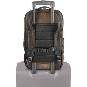 """Solo Black Ops Carrying Case (Backpack) for 17.3"""" Notebook - Bronze - Bump Resistant Interior, Scratch Resistant Interior - Nylon - Shoulder Strap, Handle - 18.5"""" Height x 12.6"""" Width x 4.9"""" Depth. Picture 2"""