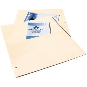 """Avery® Untabbed Double Pocket Dividers - 11.1"""" Height x 9.3"""" Width - 2 x Pockets Capacity - For Letter 8 1/2"""" x 11"""" Sheet - Ring Binder - Rectangular - Buff - 5 / Pack. Picture 2"""