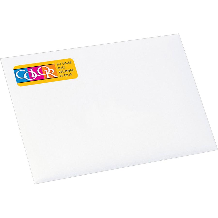 Avery® Color Printing Labels - Permanent Adhesive - Rectangle - Inkjet - White - Paper - 30 / Sheet - 20 Total Sheets - 600 Total Label(s) - 600 / Pack. Picture 2